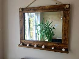 great rustic wall mirrors