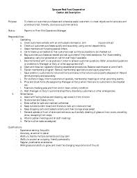 How To Write A Resume Job Description Aldiier Job Description For Resume Walmart Duties Restaurant 39