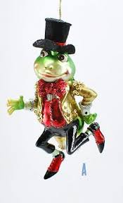 Good Will Dancing Frog Frosch Tiere Christbaumschmuck