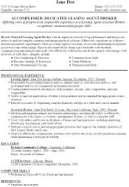 10 11 Resume For Leasing Manager 626reserve Com