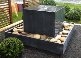 zen fountain outdoor back yard water features indoor wall modern stone fountains design all about