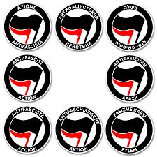 Antifa Aufkleber Mehrsprachig