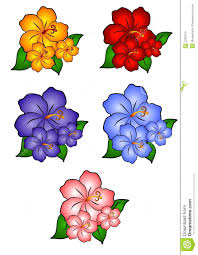 fruit border clipart free hawaiian clip art 5 hibiscus flowers royalty stock images image 2292319 10 hawaii