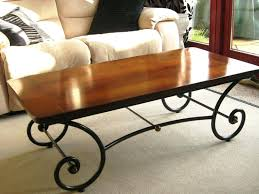 wrought iron side table. Wrought Iron Table Coffee Base For . Side