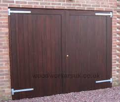side hinged garage doorsSide hung garage doors  Clwyd  Gate Expectations by Inwood Cymru