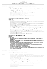 Cota Resume Occupational Therapy Assistant Resume Samples Velvet Jobs 3