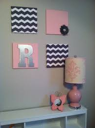 pink girls bedroom furniture 2016. 12x12 canvas wrapped in material toddler girl bedroom decor diy project chevron and pink girls furniture 2016