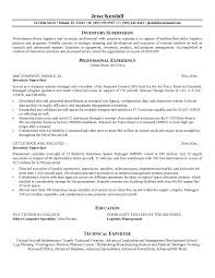 Ideas Collection Sample Resume Supervisor Position For Cover Letter
