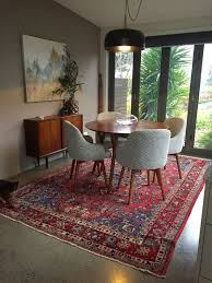 Image result for modern decorating with persian rugs