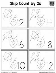 Leaf Skip Counting By 2 A To Z Teacher Stuff Printable