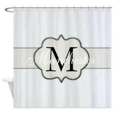 initial shower curtain monogrammed shower curtain monogrammed shower