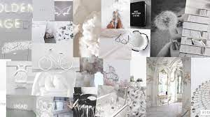 White Aesthetic Laptop Wallpapers ...