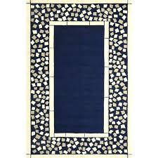 blue outdoor patio rugs rug 8 x 10 all things