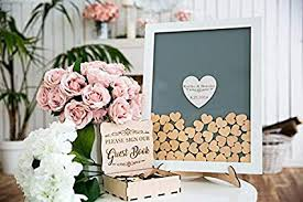 Sign Book For Wedding Amazon Com Guestbook Hearts Drop Box Wedding Guest Book