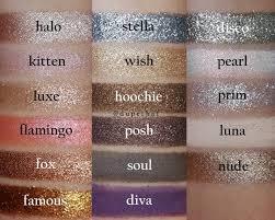 peaches makeup uk loose eyeshadow pigments 9