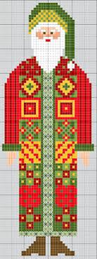 Gazette94 Pere Noël 2013 Cross Stitch Patterns Santa