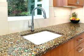 glass countertops for kitchens cost recycled glass s cost on recycled glass kitchen ocean inspiration by glass countertops for kitchens