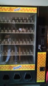 Snapple Vending Machine Beauteous Dixie Narco 48 ECC 48 Bottle Drop Soda Snapple Vending Machine