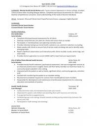 social workers resumes unusual social work supervisor resume mental health case worker