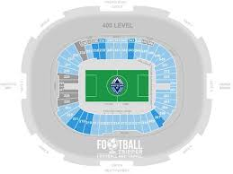 Bc Place Interactive Seating Chart Bc Place Stadium Vancouver Whitecaps F C Football Tripper
