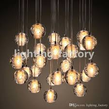 crystal drop light led crystal restaurant table lamp living room lamp chandelier pendant light lighting designer bar counter dining room chandelier crystal