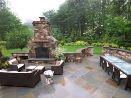 Patios With Fireplaces