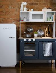 ikea kitchen and diy smeg fridge