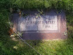 Iva Schneider Berry (1882-1968) - Find A Grave Memorial