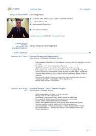 Cv Vitae Curriculum Vitae Dan Ungureanu