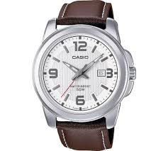 buy casio men s classic brown strap watch at argos co uk your casio men s classic brown strap watch909 9218