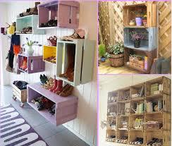 reusing old wooden bo at home shelves