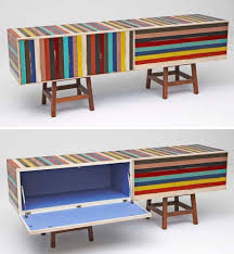 painted wood furnitureLocal Color BrightlyPainted ScrapWood Furniture Series