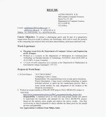 Objective In Resume For Software Engineer Experienced Resume Objective For Software Engineer Inspirational Objective In