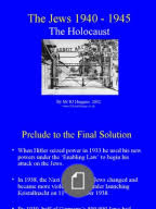 the pianist   analytical response essay  nazi germany the holocaust