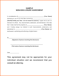 confidentiality agreement template non disclosure agreement template word template idea