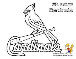 Small Picture Grand Baseball Coloring Pictures In St Louis Cardinals Pages