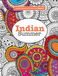 Amazonsmile Really Relaxing Colouring Book 6 Indian Summer A