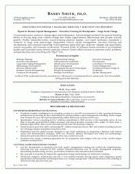 executive resumes examples example of executive resume