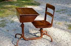 antique school desk chair. Brilliant Antique Image Of Vintage Office Desk Chair Throughout Antique School L
