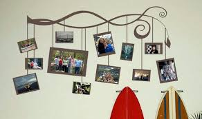 photo frame branch wall decals
