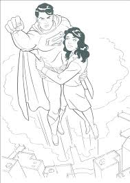 Coloring Pages Justice League Pizzafoodclub