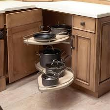 Kitchen Cabinet Carousel Corner Storage Ideas For Corner Kitchen Cabinets