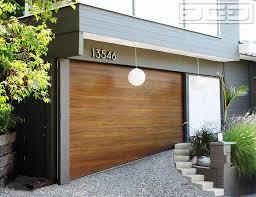 modern wood garage door. Image Of: Mid Century Modern Garage Doors Wood Door