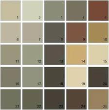 Beige Color Chart Paintingcanvas Info