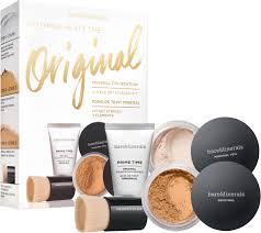 bareminerals original mineral foundation 4 piece get started kit 13 golden beige