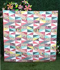 55 best Quilt Half Rectangle images on Pinterest   Quilt patterns ... & half square rectangles - pattern for sale at her site HH_Rendezvous2 by  traceyjay, via Flickr Adamdwight.com