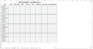 Daily Workout Journal Daily Workout Template Schedule Daycare Fitness Journal