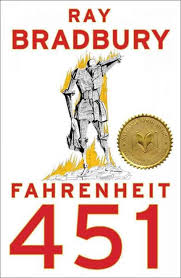 ray bradbury fahrenheit silverflight cover of fahrenheit 451 a man made of printed on paper in flames