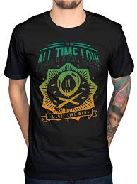 All Time Low T Shirt Design Official All Time Low New Wave T Shirt A Love Like War Glamour Kills Panic T Shirt Design Online Vintage Tees From Corporatestore75 Price