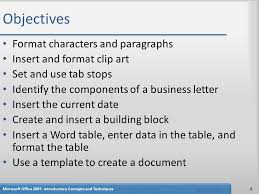 How To Make A Business Letter In Microsoft Word 2007